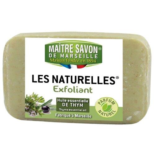 Мыло-эксфолиант кусковое Maitre Savon de Marseille Тимьян, 150 г цена 2017