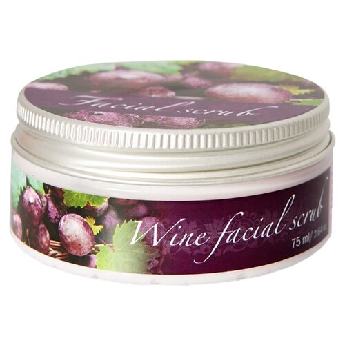 Скраб Thai Traditions Wine Facial Scrub Вино для лица 75 мл скраб gigi facial scrub 180 мл