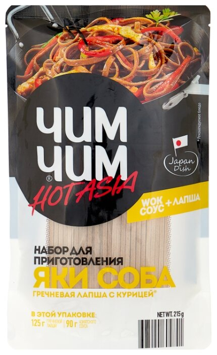Купить ЧИМ-ЧИМ Набор для приготовления Яки Соба, 215 г по низкой цене с доставкой из Яндекс.Маркета