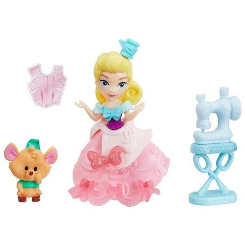 Купить Набор Hasbro Disney Princess Маленькое королевство Золушка и мышка, 8 см, E0237, Куклы и пупсы