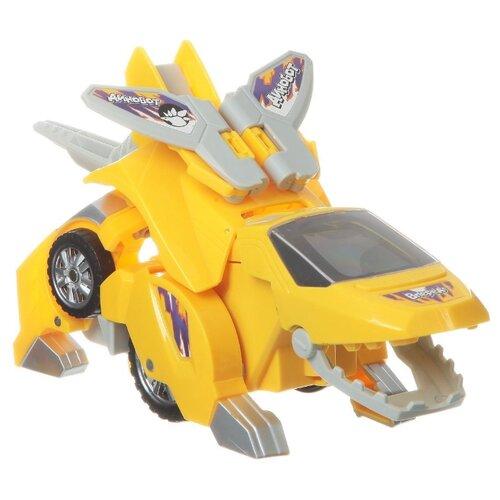 Робот-трансформер Zhorya Динобот ZYE-E0092 желтый трансформер zhorya ударный