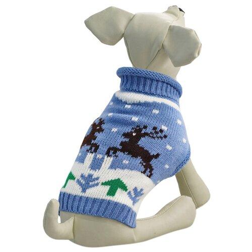 Фото - Свитер для собак Triol Олени XXL голубой triol triol xxl подгузник для собак весом от 30 кг 10 шт