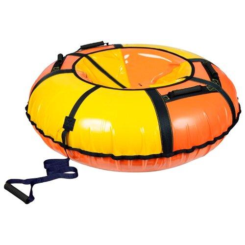 Фото - Тюбинг Nika ТБ1К-110 оранжевый с желтым тюбинг nika тб1к 110 голубой с серебристым