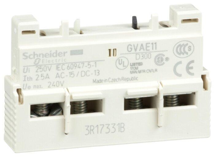 Блок вспомогательных контактов Schneider Electric GVAE11