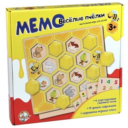 Настольная игра Десятое королевство Мемо Веселые пчелки 02971 бад секреты долголетия мемо вит 505 мг 60