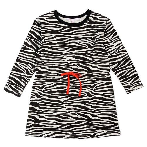 Платье MODIS размер 128, black/white