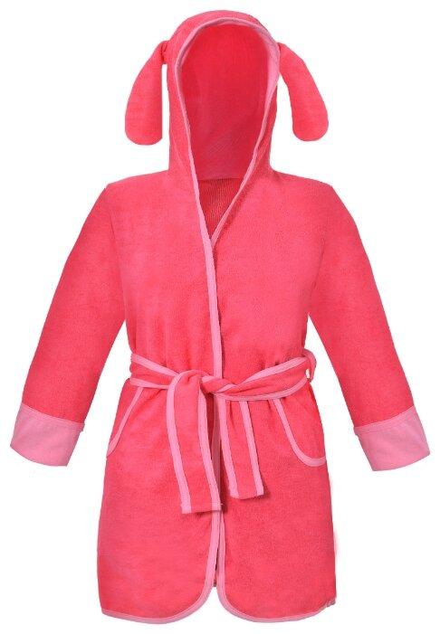Халат ДО (Детская одежда) размер 110-116, коралловый