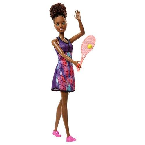 Купить Кукла Barbie Кем быть? Теннисистка, 29 см, FJB11, Куклы и пупсы