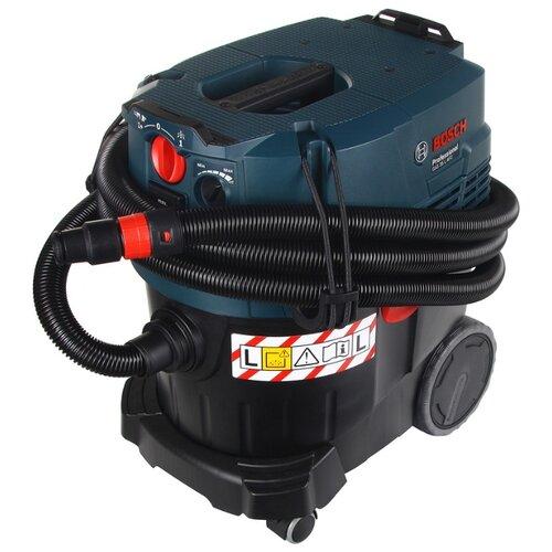 Фото - Профессиональный пылесос BOSCH GAS 35 L AFC, 1380 Вт, синий/черный пылесос bosch bwd41700 черный синий