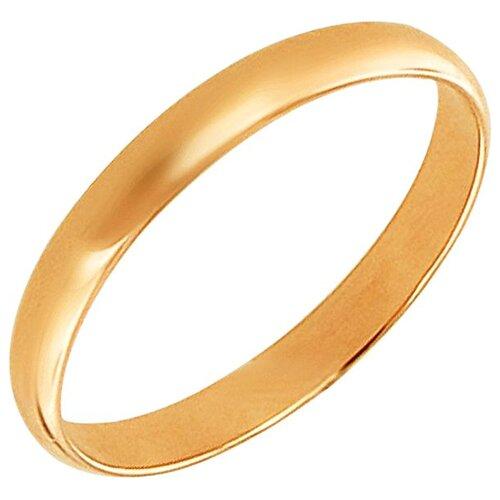 Эстет Кольцо из красного золота 01О010343, размер 18.5 ЭСТЕТ