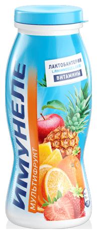 Кисломолочный напиток Имунеле мультифрукт 1.2%, 100 г
