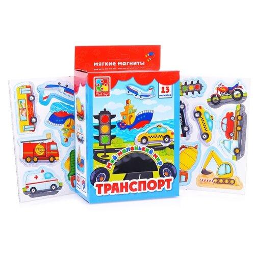 Игровой набор Vladi Toys Мой маленький мир Транспорт VT310604 обучающая игра vladi toys мой маленький мир зоопарк