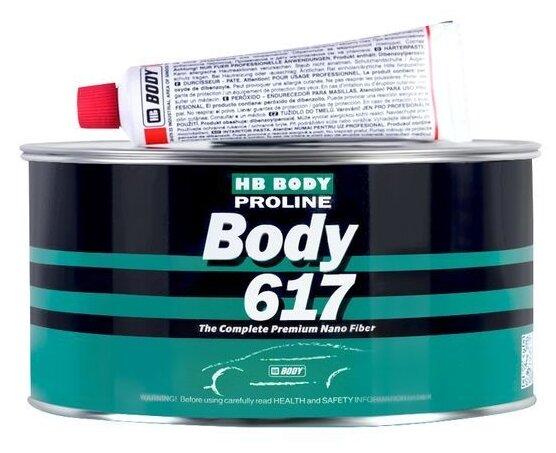 Комплект (шпатлевка, отвердитель) HB BODY Proline 617