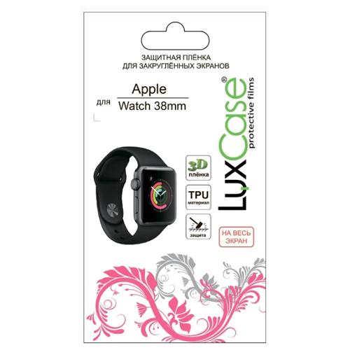 Защитная пленка LuxCase 3D для Apple Watch 38mm прозрачный глянцевый