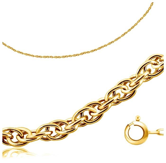 Бронницкий Ювелир Цепь из желтого золота 510601414, 55 см, 7.1 г