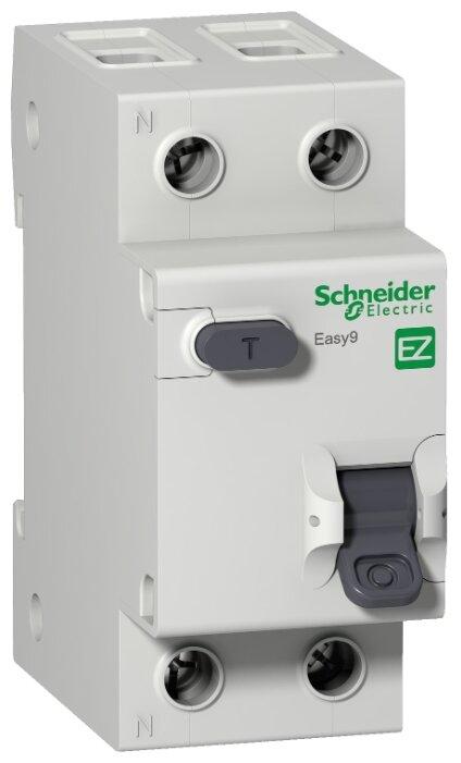 Купить Дифференциальный автомат Schneider Electric EASY 9 1П 30 мА C 4.5 кА AC 25 А по низкой цене с доставкой из Яндекс.Маркета