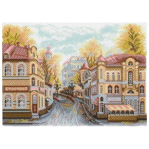 Московские улочки. Яузский бульвар Рисунок на канве 37/49 37х49 (28х39) Матренин Посад 1760