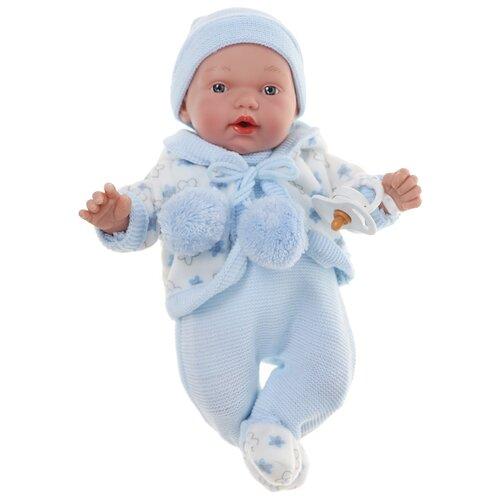 Купить Интерактивный пупс Arias Elegance в голубой одежде, 28 см, Т16339, Куклы и пупсы
