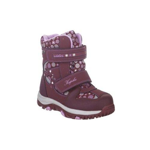 Фото - Ботинки Kapika размер 24, бордовый ботинки kapika ботинки 41254 1