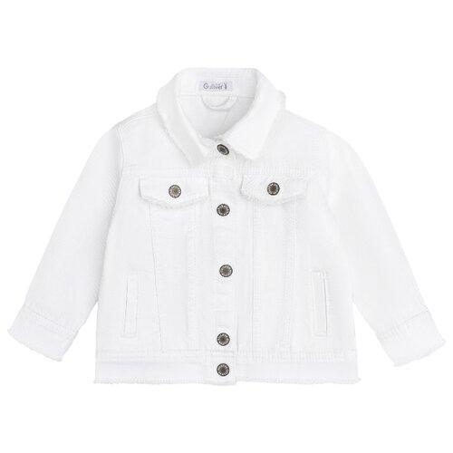 Куртка Gulliver Baby размер 92, белый куртка v baby размер 92 черный