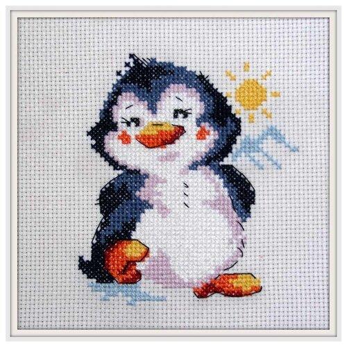 Купить 0-32 Набор для вышивания АЛИСА 'Пингвинёнок' 9*11см, Алиса, Наборы для вышивания