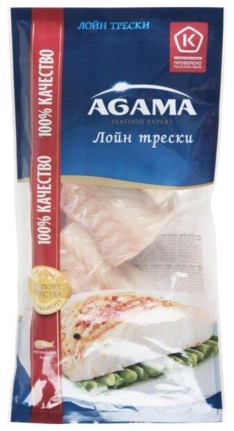 Agama Треска филе(лойн) замороженная 400 г