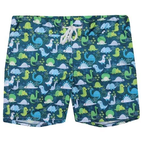 Купить Шорты для плавания KotMarKot размер 110, зелeный, Белье и пляжная мода