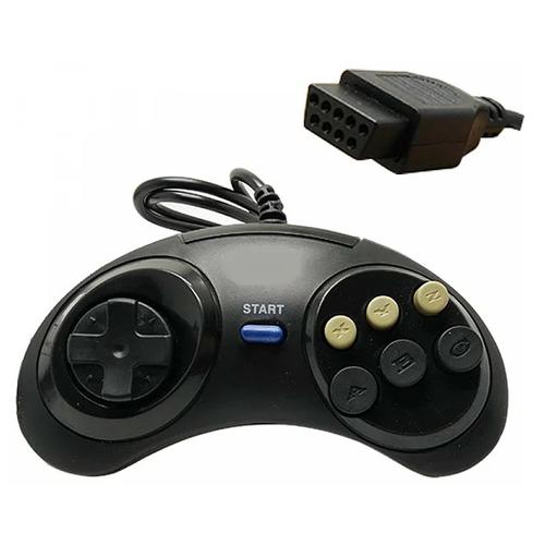 Джойстик Sega стандартный черный