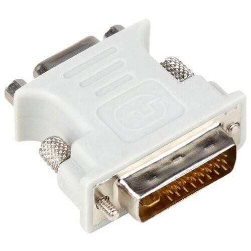 Переходник Aopen DVI-I - VGA (ACA301) белый  - купить со скидкой