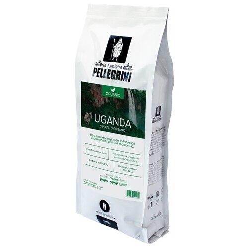 Кофе в зернах la famiglia Pellegrini Uganda Organic Sipi Falls, арабика, 500 г кофе в зернах la famiglia pellegrini barista professional blend арабика робуста 1000 г