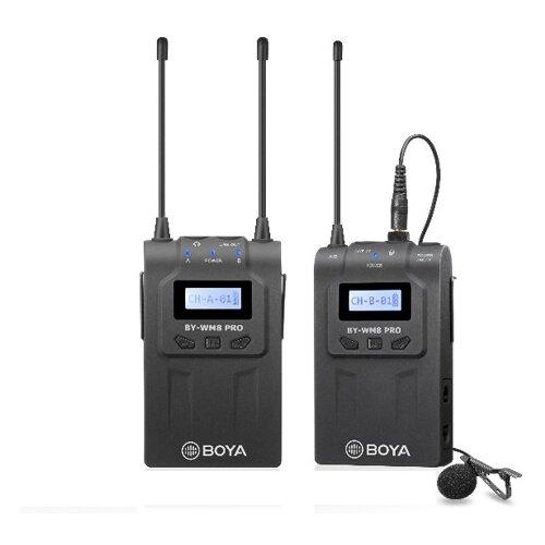 Двухканальная УКВ беспроводная микрофонная система Boya BY-WM8 PRO-K1