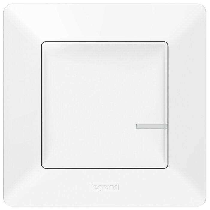Выключатель с электронной коммутацией Legrand 752185 Valena Life, белый фото 1