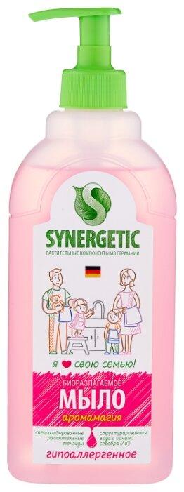 Мыло жидкое Synergetic биоразлагаемое Аромамагия