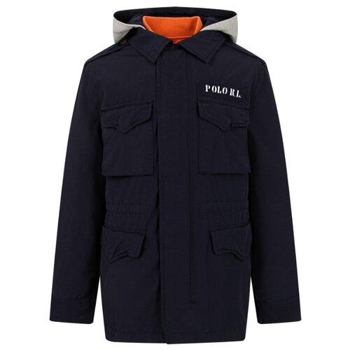 Купить Куртка Ralph Lauren размер 175, синий, Куртки и пуховики