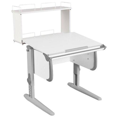 Купить Стол ДЭМИ White-Стандарт СУТ-24-01Д 75x82 см белый/серый/серый, Парты и столы
