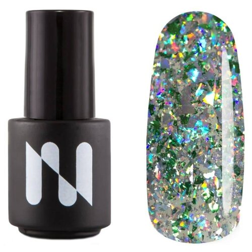 Купить Гель-лак для ногтей Masura Indie, 3.5 мл, россыпь изумрудов