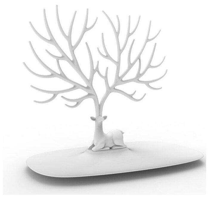 Подставка для украшений Qualy Deer малый, белый