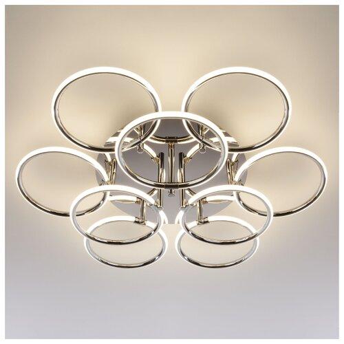 Потолочный светильник Eurosvet 90069/9 хром 94W потолочный светильник eurosvet 40065 2 хром
