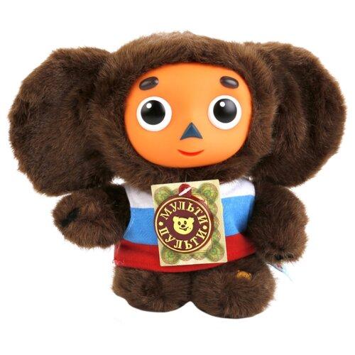 Мягкая игрушка Мульти-Пульти Чебурашка в маечке с флагом 17 см