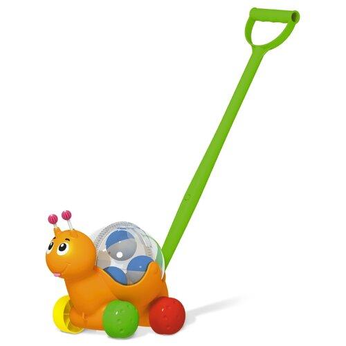 Каталка-игрушка Stellar Улиточка (01934) оранжевый