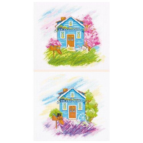 Купить Набор для вышивания Panna Времена года: весна, лето , арт. ДЕ-7003, 39х18 см, Наборы для вышивания