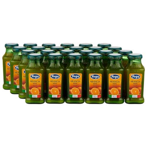 Сок Yoga Апельсин, без сахара, 0.2 л, 24 шт. сок santal апельсин без сахара 0 2 л 24 шт