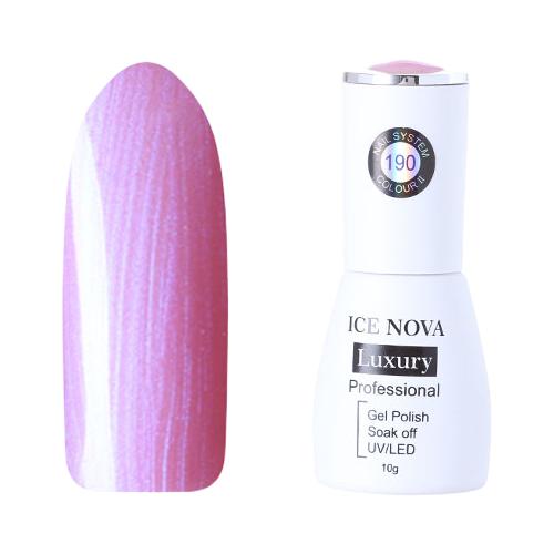 Купить Гель-лак для ногтей ICE NOVA Luxury Professional, 10 мл, 190
