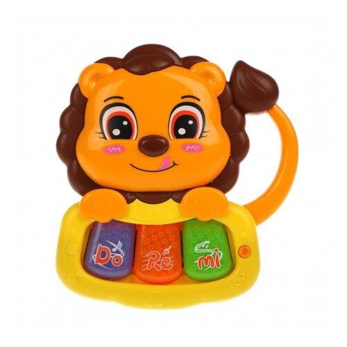 Развивающая игрушка Жирафики Львенок (939799) оранжевый/желтый, Развивающие игрушки  - купить со скидкой