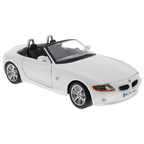 Купить Легковой автомобиль Bburago BMW Z4 (18-22002) 1:24 18.5 см белый, Машинки и техника