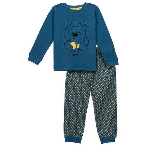 Купить Пижама Frutto Rosso размер 122, синий, Домашняя одежда