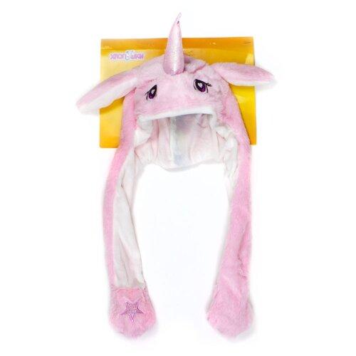 Купить Головной убор 1 TOY Хлоп-Ушки Единорог (Т17634), розовый, Карнавальные костюмы