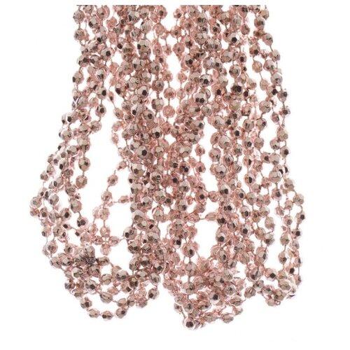 БУСЫ пластиковые БРИЛЛИАНТОВАЯ РОССЫПЬ, 2,7 м, цвет: нежно-розовый, Kaemingk 001555 бусы кэтти розовый кварц