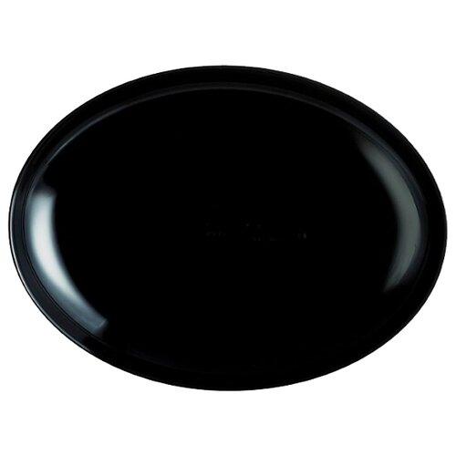 Luminarc Тарелка для стейка Friends Time 30x25,5 см black