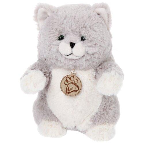 Купить Мягкая игрушка Lapkin Толстый кот серый 20 см, Мягкие игрушки